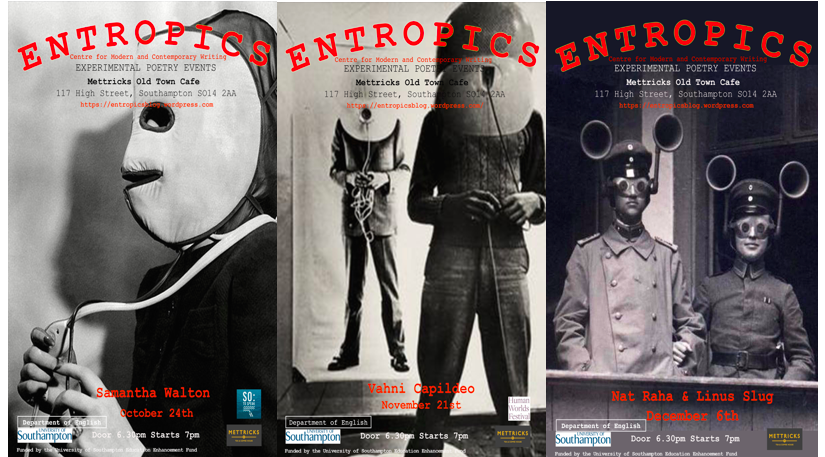 Entropics: Southampton's emerging poetry night