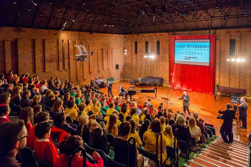 Turner Sims and Southampton Music Hub, Schools Concert