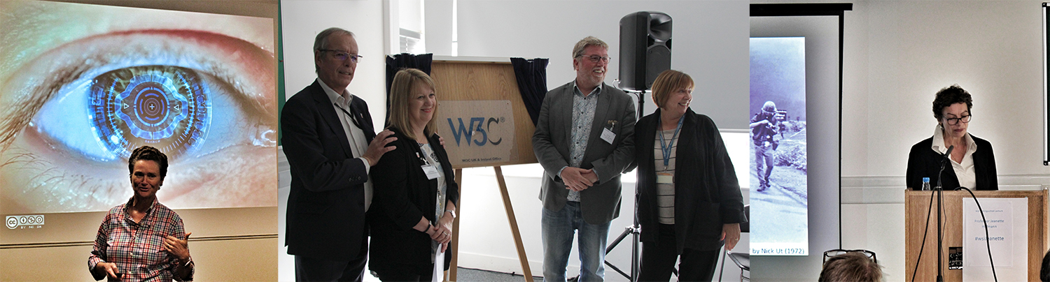Busy week: Anni Rowland-Campbell, W3C UKI Launch and Professor Jeanette Hoffman