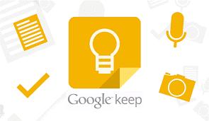Google keep logo.