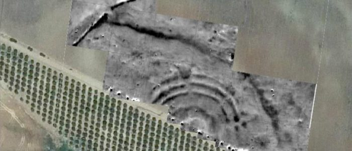 Magnetometry of the newly discovered circular earthwork enclosure La Loma del Real Tesoro II (near Carmona).