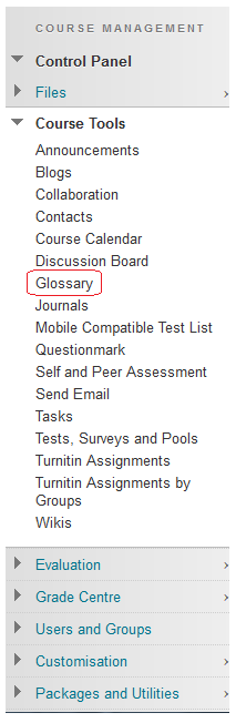 how to make a course available in blackboard