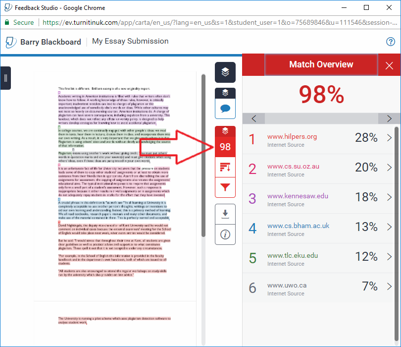 TurnItIn – eLearning Support and Resources