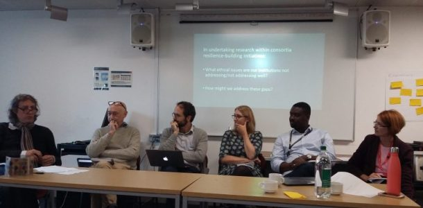 The ethics of co-production and the role of consortia research in resilience-building