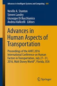 Advances in Human Aspects of Transportation 2016
