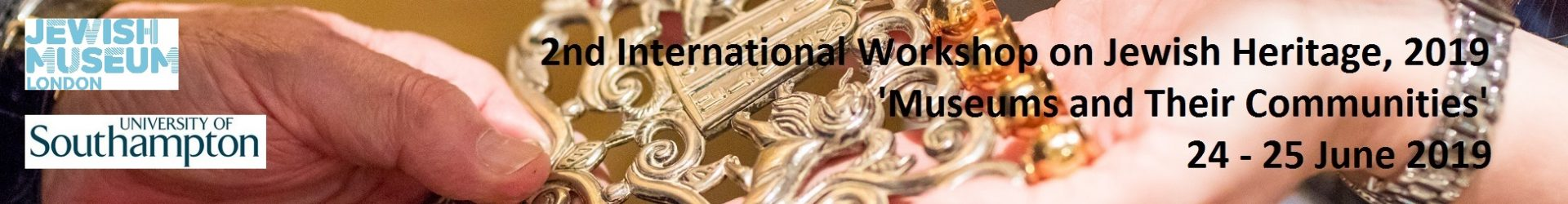 2nd International Workshop on Jewish Heritage, 2019 'Museums and Their Communities'
