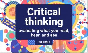 Critical Thinking module from Skills for Study Campus
