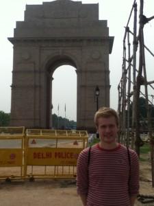 India Gate Amid Tight Security