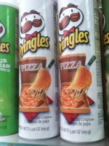 Pizza Pringles...