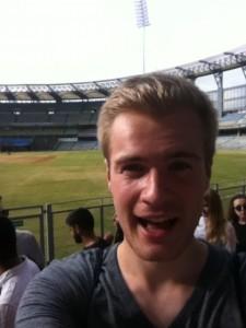 A Shameless Selfie at the Wankhede Stadium