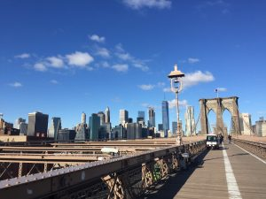 New york- Brooklyn Bridge