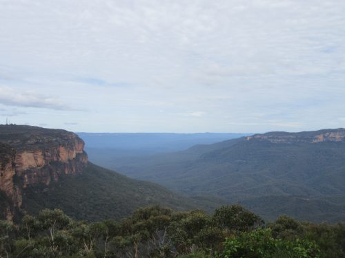 Blue Mountains living up to their name