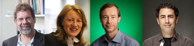 WebSci'16 Keynotes: Daniel Miller, Helen Margetts, Andrew Tomkins, and Daniel Olmedilla.