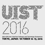 UIST 2016 logo