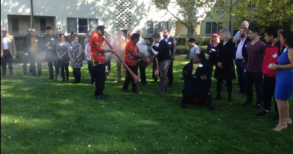 Ngunnawal country smoking ceremony