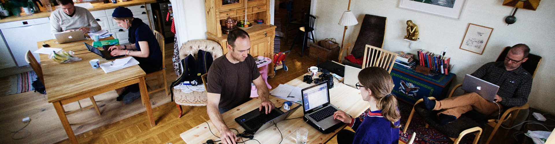 From Homeworking to Coworking