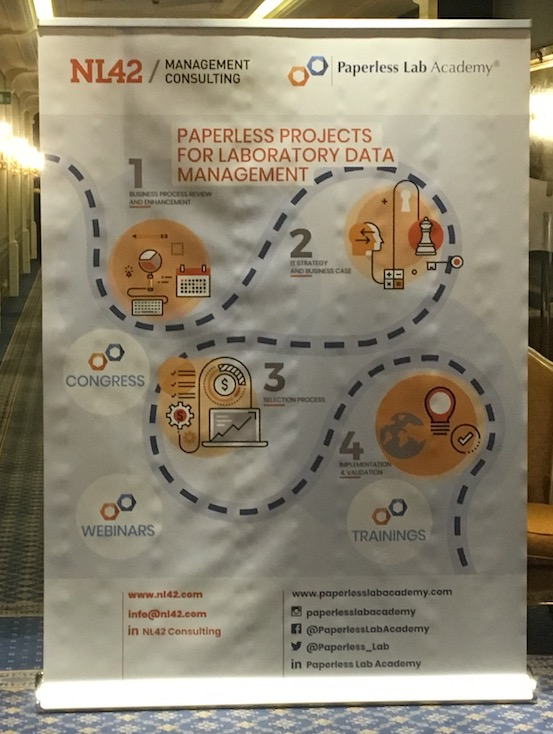 08/04/2019 – AI3SD Attends Paperless Lab Academy