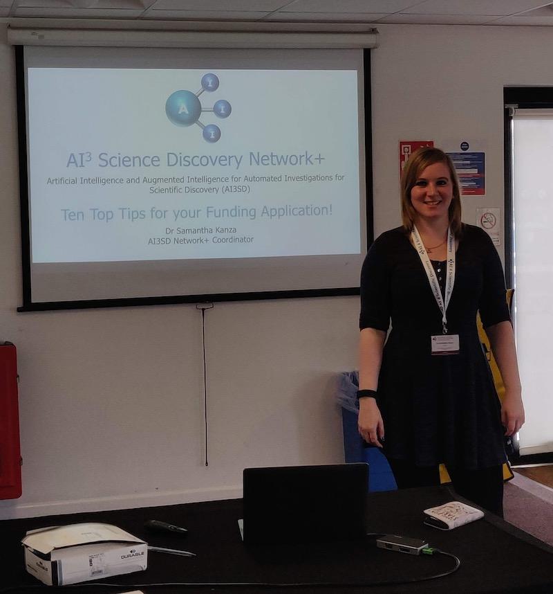 11/09/2019 – AI3SD Network+ Town Meeting & Funding Workshop – Wide Lane, Southampton