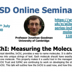15/07/2020 – AI3SD Online Seminar Series: InChI: measuring the molecules – Professor Jonathan Goodman