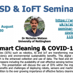 26/08/2020 – AI3SD Online Seminar Series: Smart Cleaning & COVID-19 – Dr Nicholas Watson