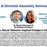 14/09/2020 – AI3SD Online Seminar Series: On the Basis of Brain: Neural–Network–Inspired Changes in General Purpose Chips – Dr Simone Vannuccini & Ms Ekaterina Prytkova