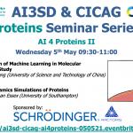 05/05/2021 – AI 4 Protein Seminar Series: II