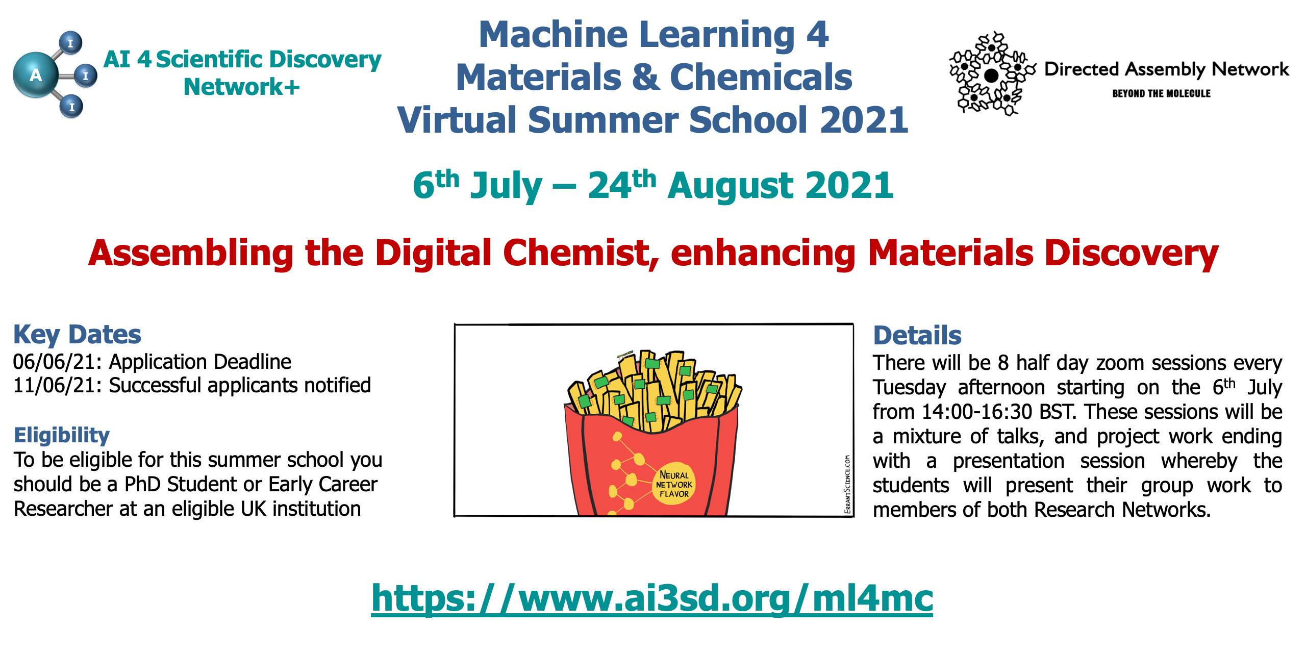 Read more about the article 20/05/2021 – ML4MC Summer School