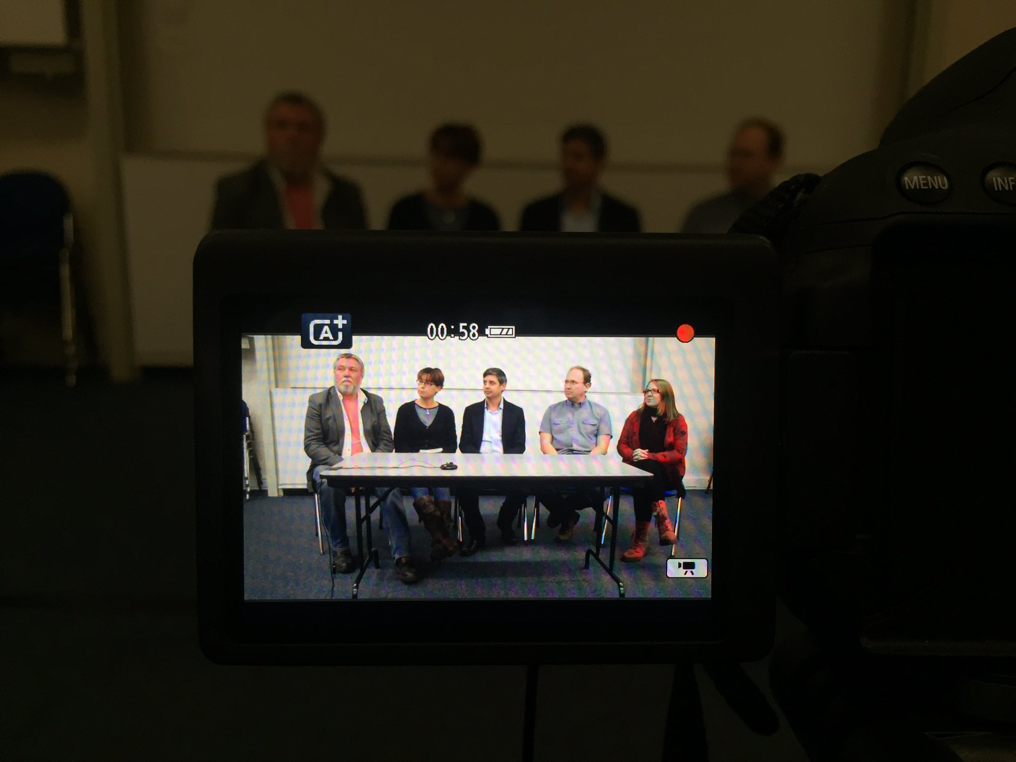 A Shot of the Live Panel