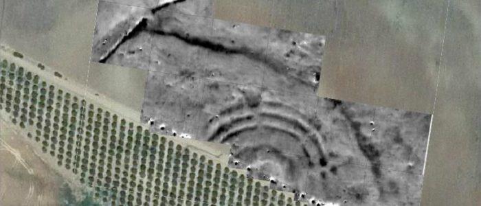Magnetometry of the newly discovered circular earthwork enclosure La Loma del Real Tesoro II (near Carmona).