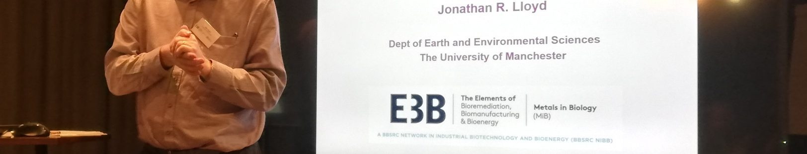 Joint M3B Net/EBNet Metal Biorecovery and Bioremediation: 28-29 Nov 19, Manchester
