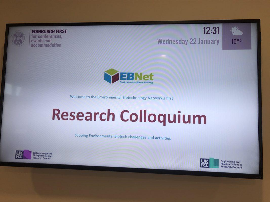 Research Colloquium on TV!