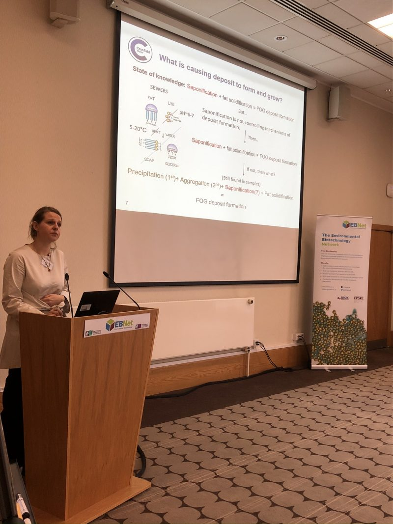 Natalia Jawiarczyk, Cranfield University on FOG deposition