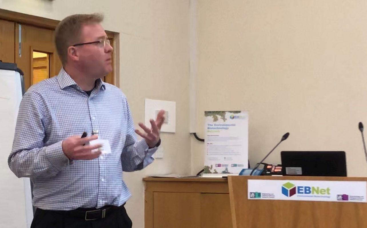 Prof John Andresen describing integration and optimisation for EB