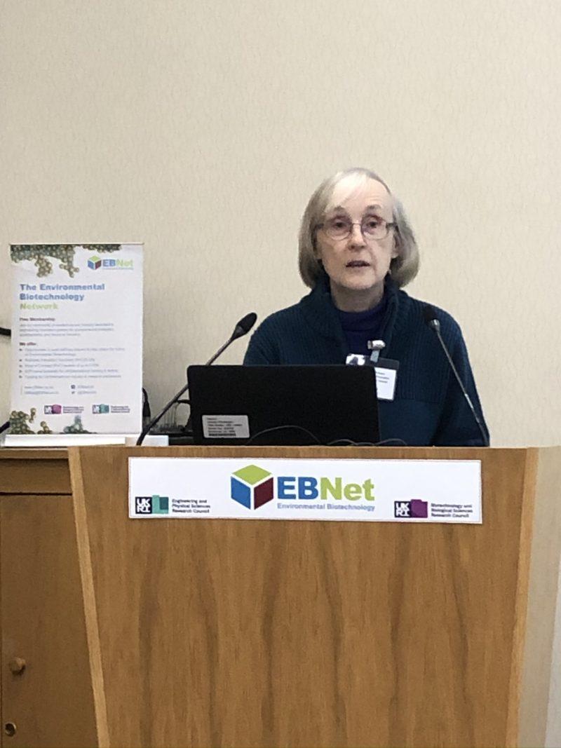 Prof Sonia Heaven kicking off the EBNet Research Colloquium 2020 in Edinburgh