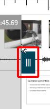 A blue tab, highlighted