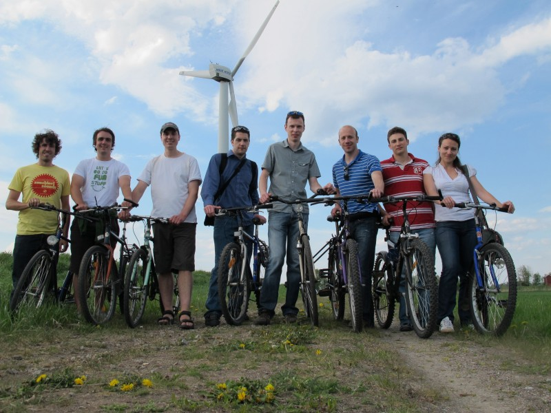 Sustainable Energy Research Group at WREC 2011 in Linköping