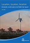 EST Domestic Small-Scale Wind Field Trial Report Written by Members of SERG Published