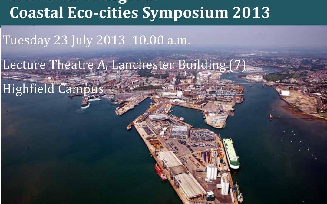 University of Southampton Holds Research Collegium on Coastal Eco-cities Symposium 2013