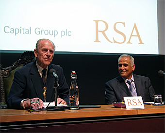 Presentation at the Royal Society for the Encouragement of Arts, Manufactures & Commerce (RSA) Sigma President's Lecture