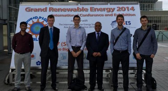 SERG delivers 6 papers at the 2nd Asian Wave and Tidal Energy Conference