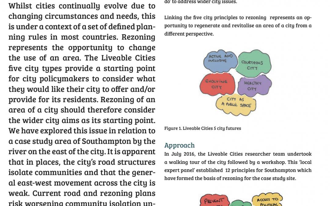 Liveable Cities – Case studies