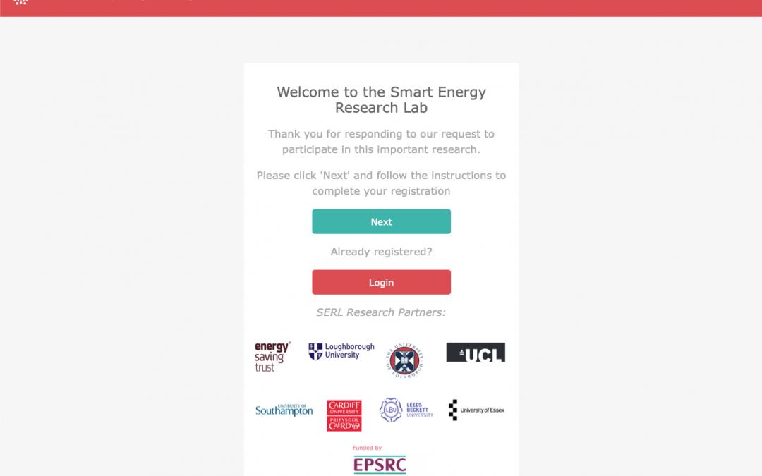 SERL consortium invites households to share their energy data