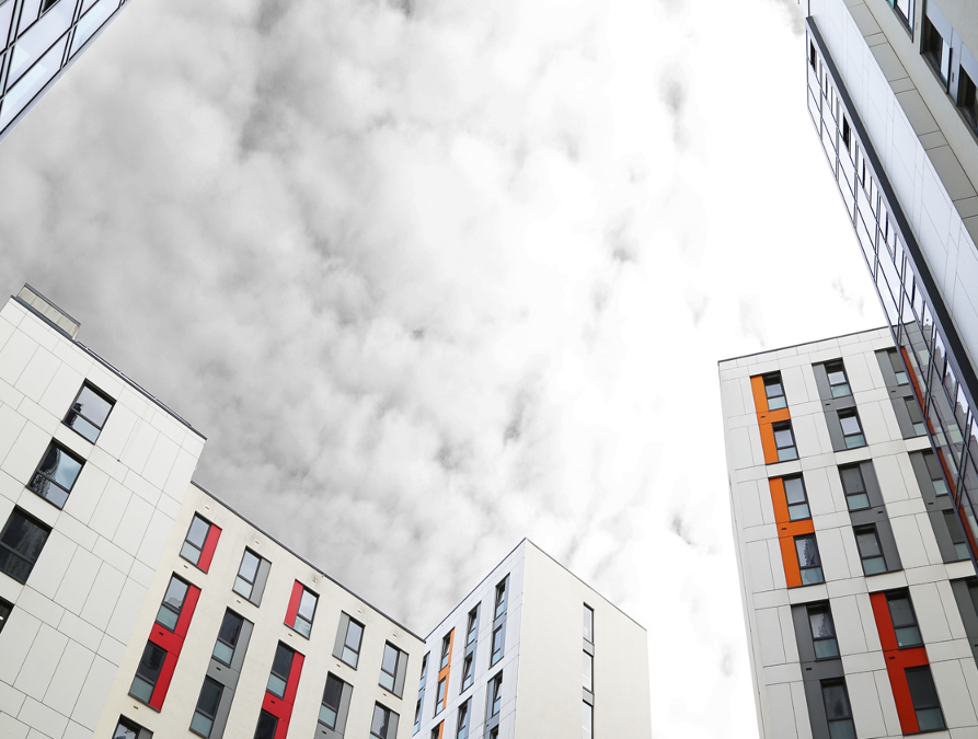 Energy Performance and Thermal Comfort in a High-Rise University Halls of Residence