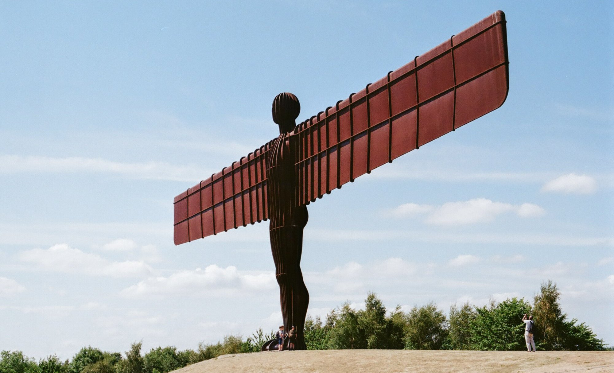 The Angel of the North in Gateshead Photo by Anthony Winter on Unsplash