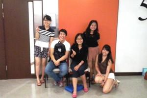 The class with Han Laoshi