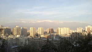 Santiago at Sundown