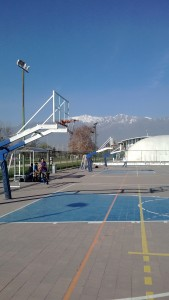 Out door basketball courts