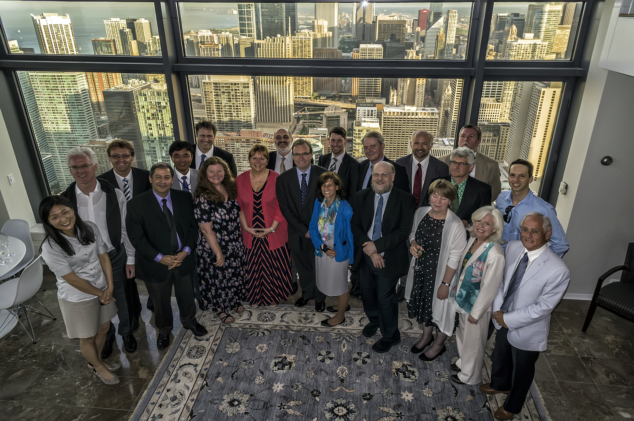 Lab Directors Visit British Consulate General in Chicago