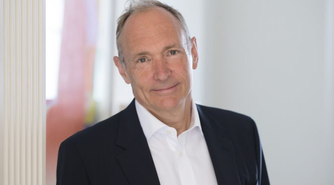 Tim Berners-Lee announced as the keynote speaker for the WebSci18 Conference