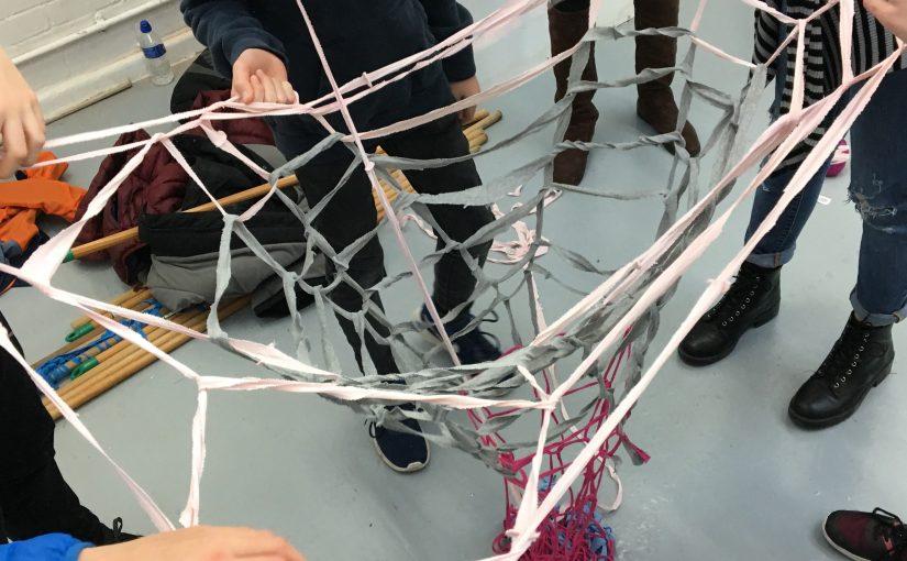 The human knitting machine